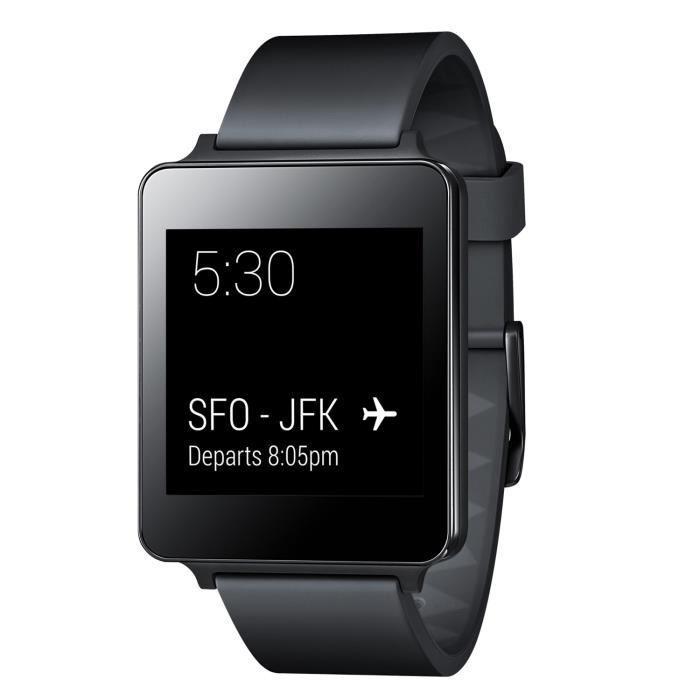 Montre connectée LG G Watch Noire