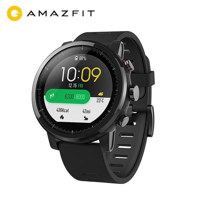 Montre GPS Xiaomi Amazfit Stratos 2 (version anglaise). Update reduc sur la version chinoise