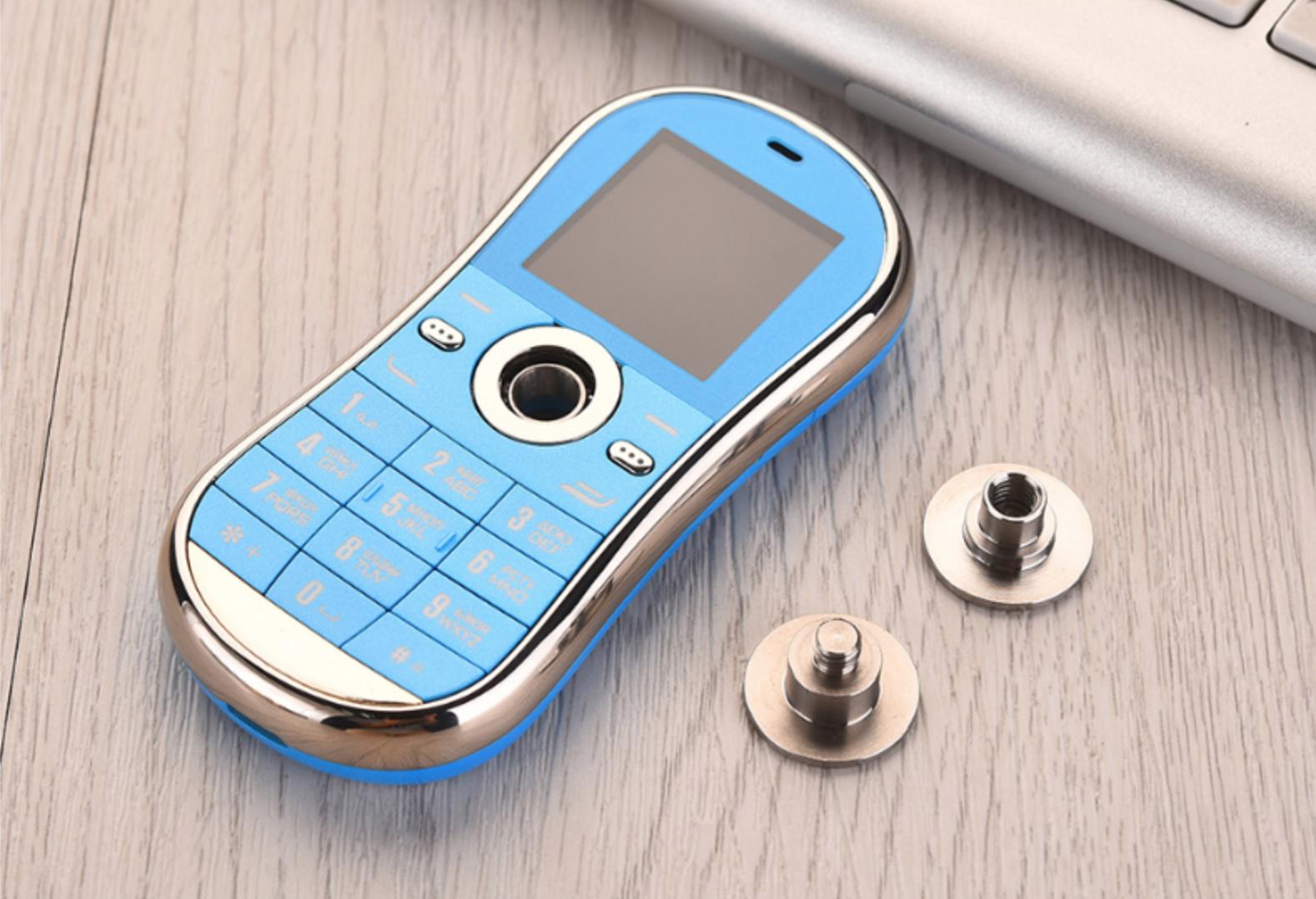 "Mini-téléphone / fidget spinner 1.3"" - double-SIM, Bluetooth"