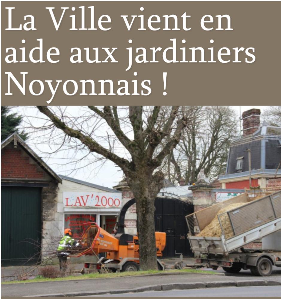 Distribution de copeaux de bois gratuit - Noyon (60)
