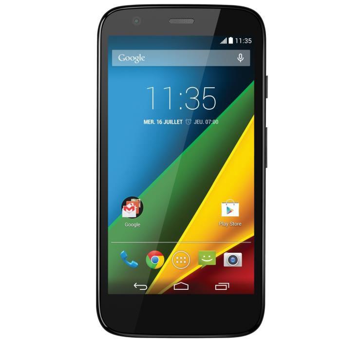 "Smartphone 4.5"" Motorola Moto G 4G Noir 8Go"