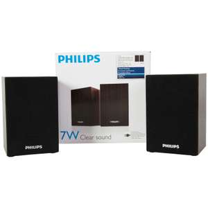 Set d'enceintes Philips - 7W - 12 x 8 cm