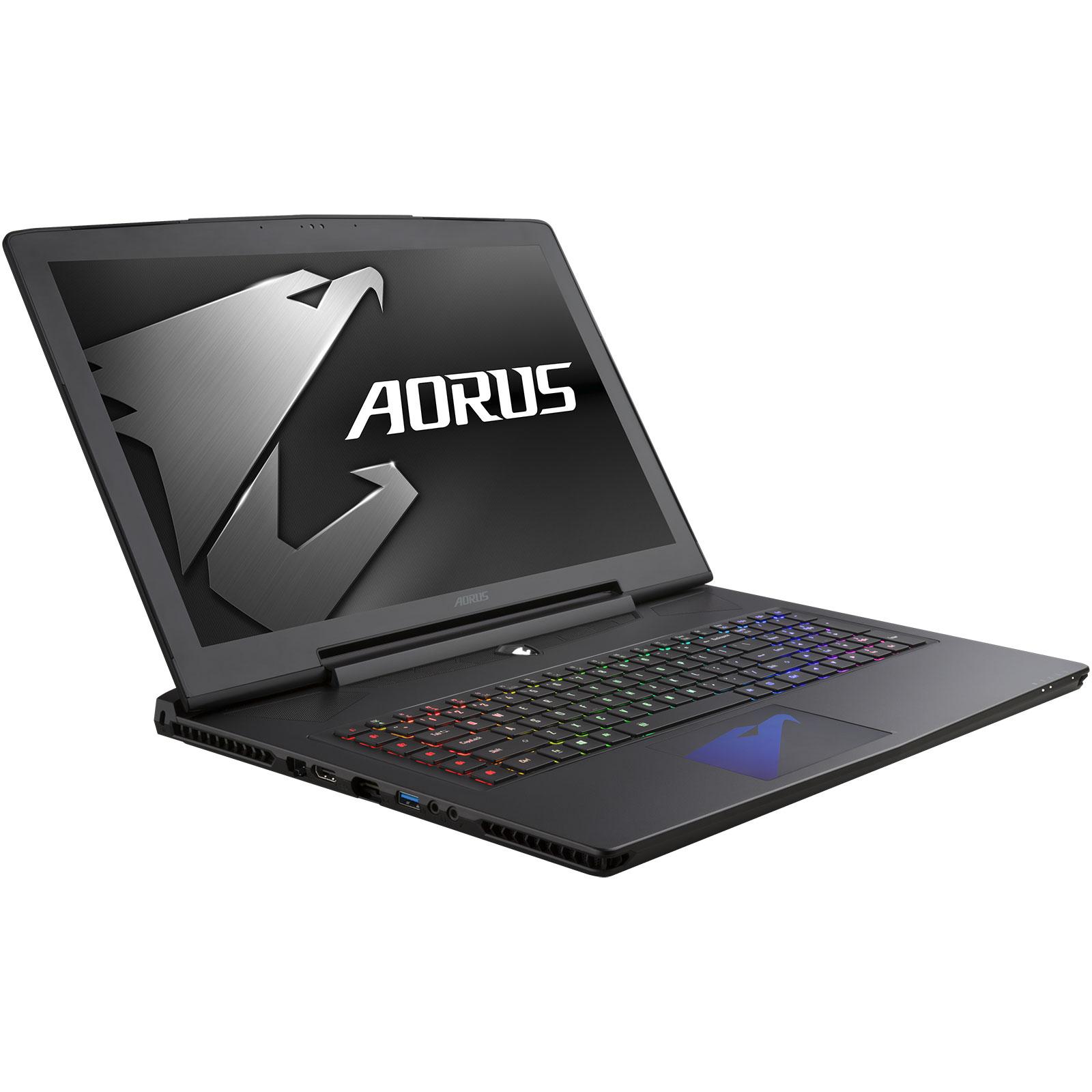 PC portable Aorus X5 v6  K1NW10-FR - i7-6820HK, 16 Go, GTX 1070 8 Go, Ecran 3k, SSD 256 Go