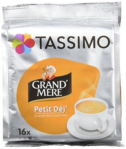 Pack de 5 packs Tassimo Grand'Mère Petit Déjeuner 16 Tdisc