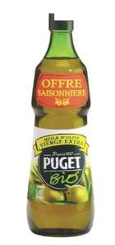 Lot de 3 bouteilles d'huile d'Olive Bio Puget - 75 cl