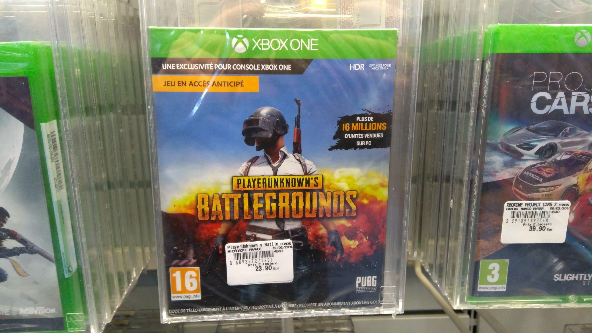 Playersunknown's battleground sur Xbox one - Conflans (78)