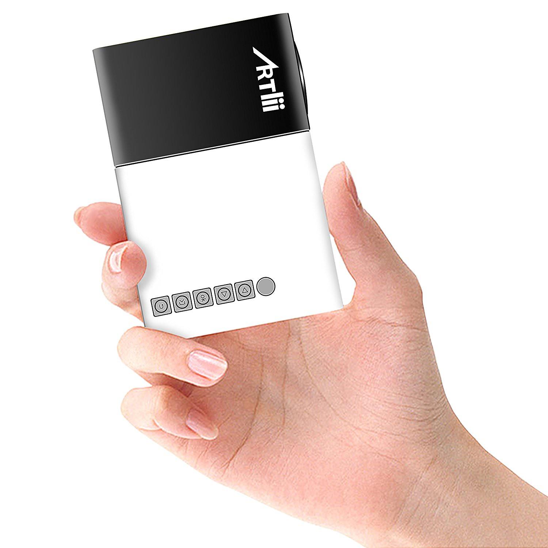 Pico Projecteur Artlii Mini - USB/SD/AV/HDMI (vendeur tiers)