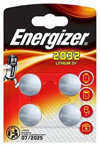 [Panier Plus] Lot de 4 batteries au lithium Energizer - CR 2032