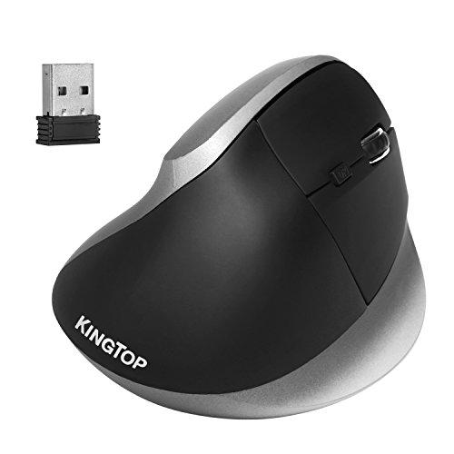 Souris ergonomique verticale Kingtop - Sans Fil 2.4GHz (Vendeur tiers)