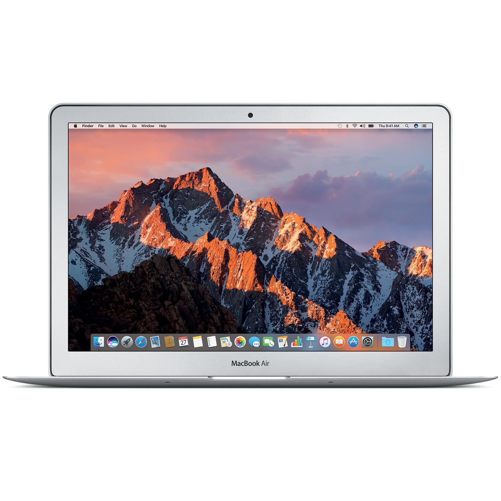"PC Portable 13.3"" Apple MacBook Air MQD32FN - 1440 x 900, i5, RAM 8 Go, SSD 128 Go, QWERTY (eGlobal Central)"
