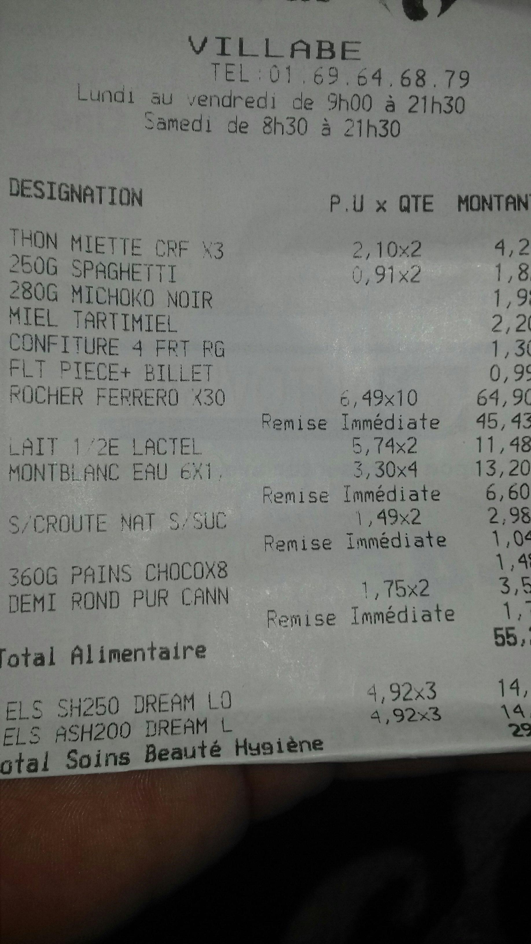 Boîte de Ferrero Rocher x30 - Villabe (91)