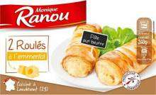 2 Roulés au fromage Monique Ranou - 120g