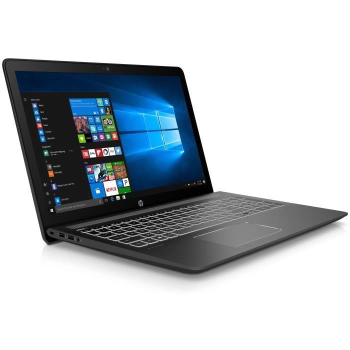 "PC Portable 15.6"" HP Pavilion 15cb031nf - i5-7300HQ, 8 Go de Ram, 1 To + 128 Go SSD, GeForce GTX 1050"