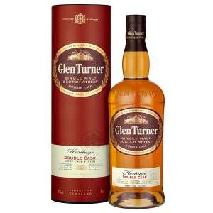 Bouteille de Whisky Glen Turner Heritage Double Cask - 70cl (Via Carte de Fidélité + BDR)