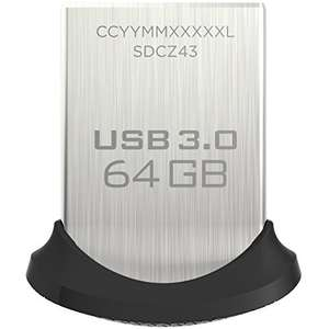 Clé USB 3.0 Sandisk Ultra Fit - 64 Go