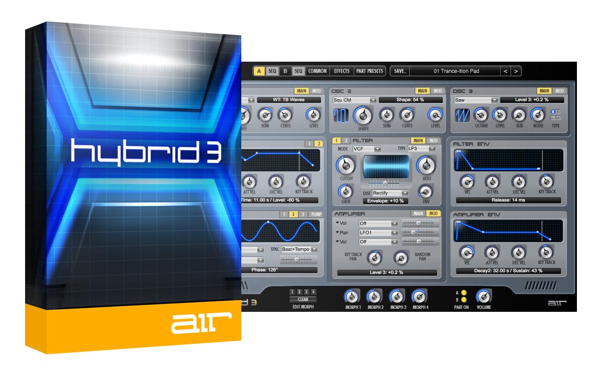 Logiciel Synthé Hybrid 3 sur PC (Dématérialisé)