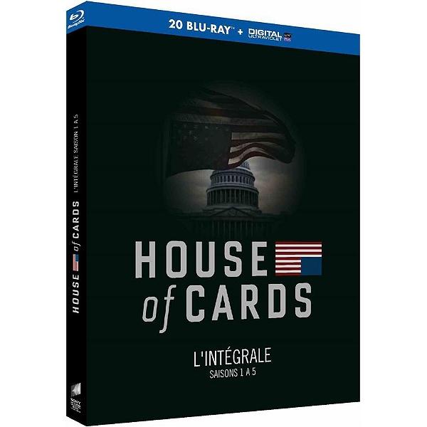 Coffret Blu-ray House of Cards - L'intégrale des saisons 1 à 5