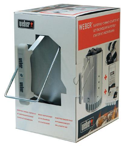 Kit de cheminée d'allumage pour barbecue Weber