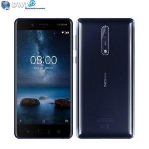 "Smartphone 5.3"" Nokia 8 - QHD, Snapdragon 835, 4 Go RAM, 64 Go ROM, 4G"