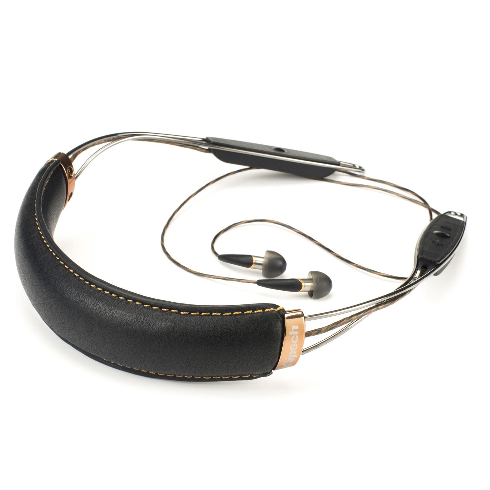 Ecouteurs intra-auriculaires Klipsch X12 Neckband - Compatible Apple