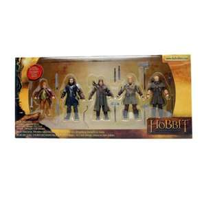 Pack 5 figurines The Hobbit