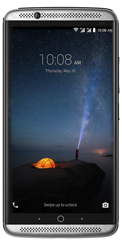 "Smartphone 5.5"" ZTE Axon 7 Gris - 64 Go - 4 Go de Ram - Ecran Amoled"