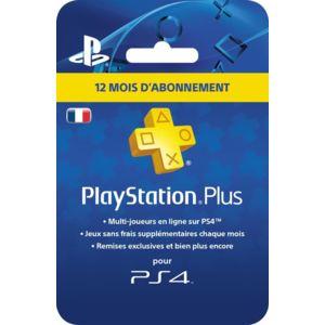 Abonnement d'un an au PlayStation Plus (dématérialisé)