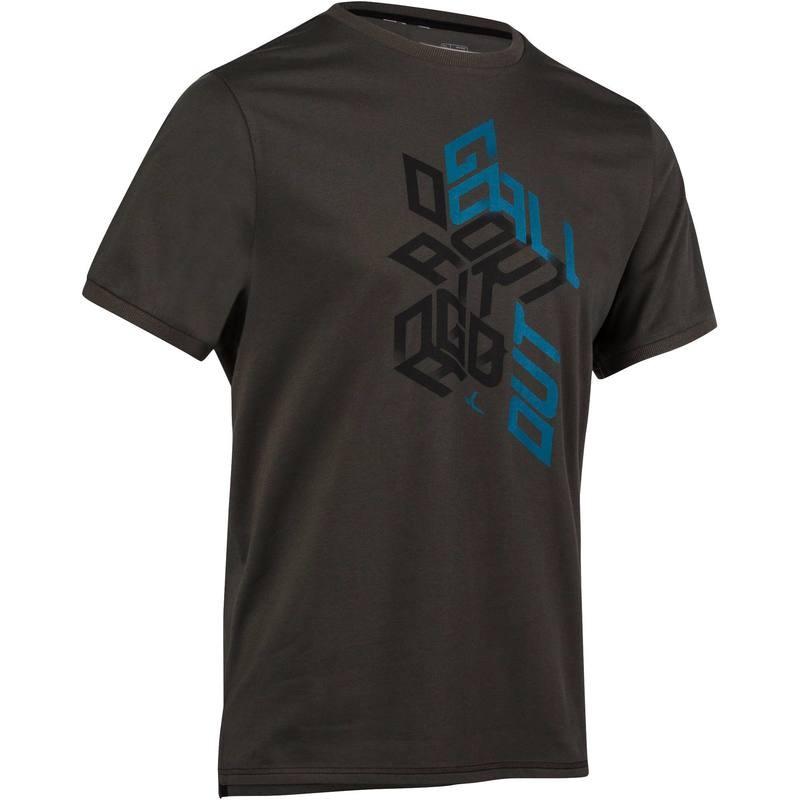 T-shirt regular imprimé Gym et Pilates Domyos (Taille S et M)
