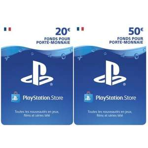 Carte Playstation Network d'une valeur de 70€