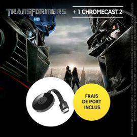 Chromecast 2 + film transformer HD (+1,45 € de remise sur prochain achat)
