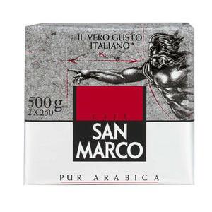2 packs de café moulu San Marco (2x 250gr)