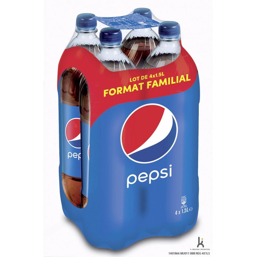 50% de réduction sur une sélection de produits en promotion - Ex: Pepsi pack 4x 1,5L à 2,16€ au lieu de 4,32€ (Via Carte de Fidélité)