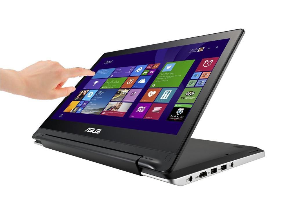 """PC Portable tactile 13,3"""" Asus Transformer Book Flip TP300LA-DW060H Noir (Intel Core i3, 4 Go de ram, Disque dur 500 Go, Windows 8.1)"""