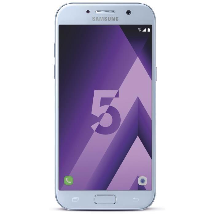 """Smartphone 5.2"""" Samsung Galaxy A5 2017 (Coloris au choix - 32 Go (via ODR de 50€)"""