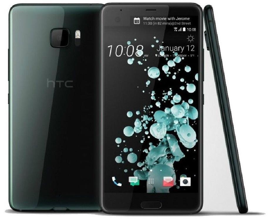 "Smartphone 5.7"" HTC U Ultra, B4; B20 et B28 - QHD, Snapdragon 821, 64 Go ROM, 4 Go RAM"
