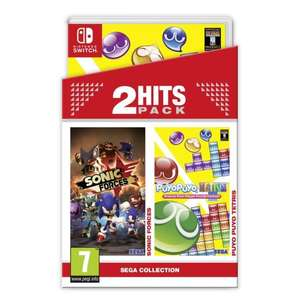 2 Hits Pack : Sonic Forces/Puyo Puyo Tetris pour Switch