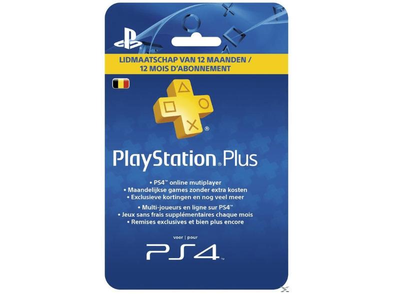 Abonnement Playstation Plus Belgique (Frontaliers Belges)