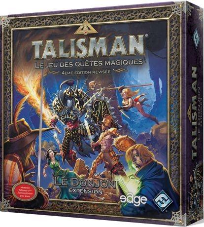 Sélection d'extensions jeu de société Talisman en promotion - Ex : Talisman : Le Donjon
