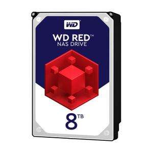 """Disque dur interne 3.5"""" Western digital Red - 8 To"""