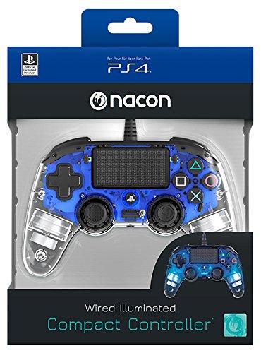 Manette filaire compacte lumineuse Nacon pour Playstation 4
