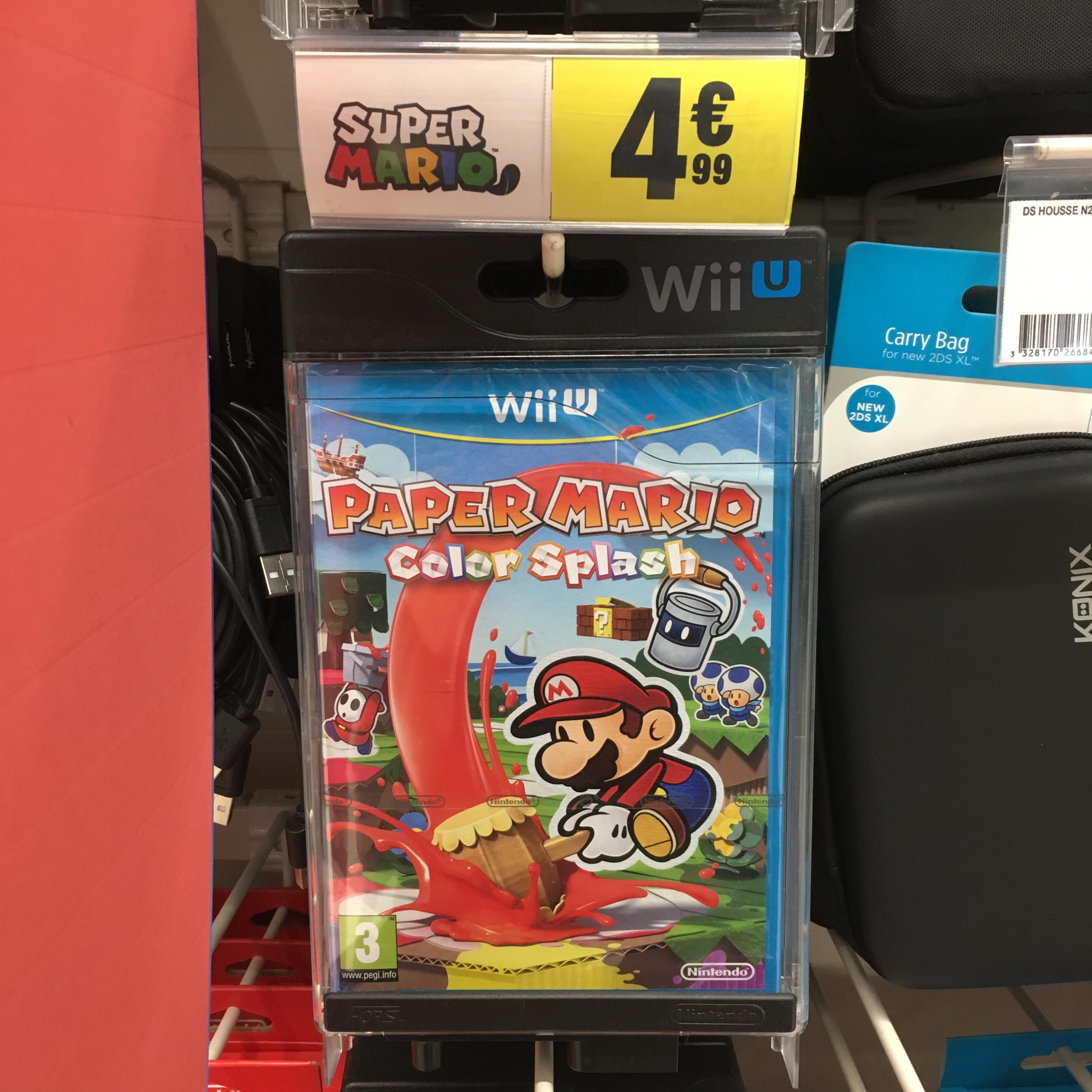 Paper Mario Color Splash sur Wii U - Cognac (16)