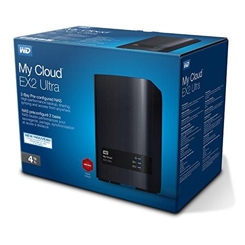 Serveur NAS WD My Cloud EX2 Ultra WDBVBZ0040JCH-EESN - 4 To - 2 Baies -