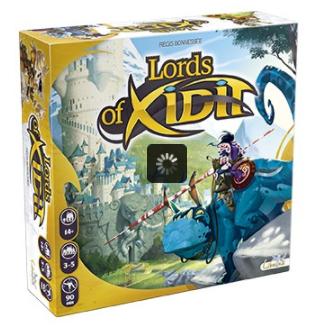 Sélection de jeux de société en promotion - Ex : Jeu de Société Lords Of Xidit