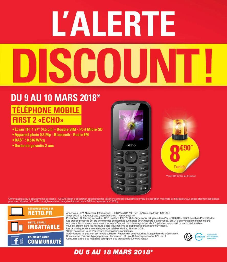 Téléphone mobile First 2 Echo