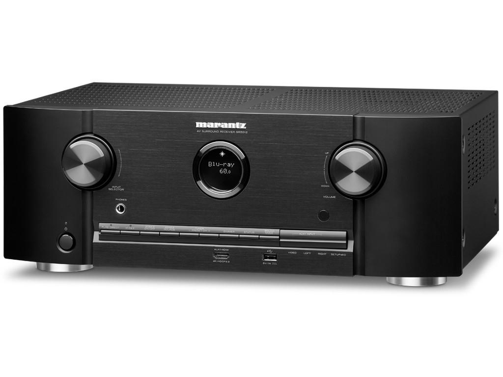 Amplificateur Home-Cinema Marantz SR5012 - Noir ou argent