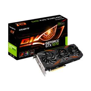 Carte graphique Gigabyte GeForce GTX 1070 G1 Gaming 8G (rev 1.0)