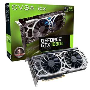 Carte graphique EVGA GeForce GTX 1080 Ti SC2 Gaming, 11Go GDDR5X