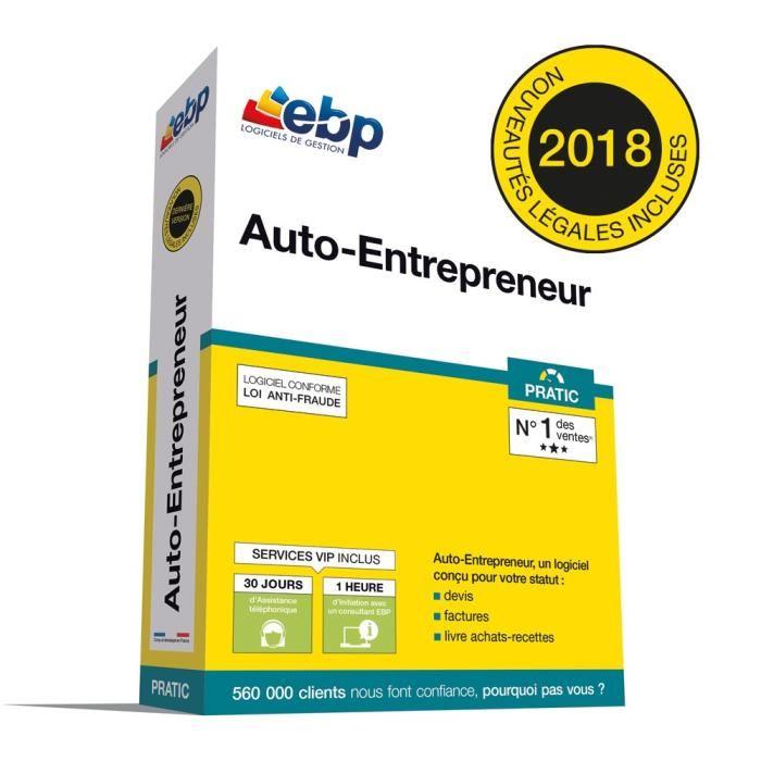 Logiciel Auto-Entrepreneur Pratic + VIP 2018