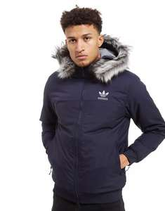 Parka adidas Originals Trefoil Fur Padded Parka Jacket