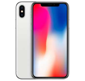 "Smartphone 5.8"" Apple iPhone X - 256 Go, Gris Sideral + 217.80€ en Superpoints"